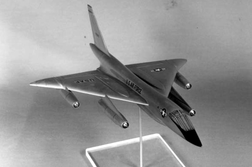 Проект сверхзвукового бомбардировщика Convair В-58В, 1958 год - «Стелс»: первые пять лет | Warspot.ru