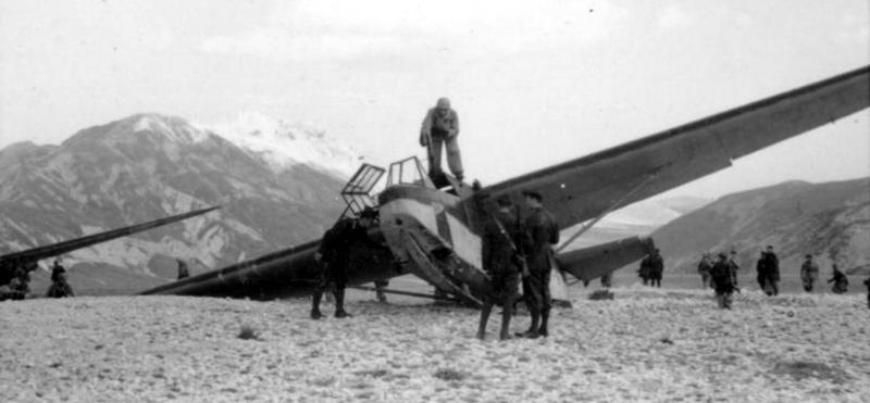 Планеры DFS 230 на плато Гран-Сассо - «Дуче, меня прислал фюрер!» | Warspot.ru