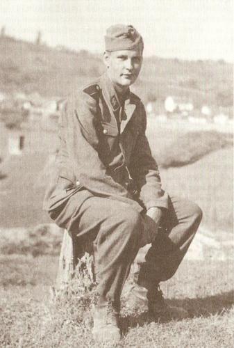 Норвежский доброволец дивизии СС «Нордланд» во время службы в Хорватии. pinterest.com - Балканский вояж дивизии «Нордланд»: скандинавы против югославских партизан | Warspot.ru