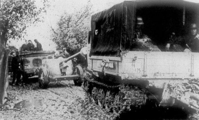 Полученные противотанковые орудия были задействованы в антипартизанских акциях. frikorps-danmark.dk - Балканский вояж дивизии «Нордланд»: скандинавы против югославских партизан | Warspot.ru