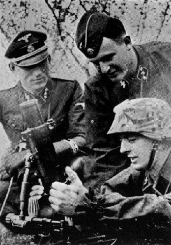Обучение миномётчиков полка СС «Норге». pinterest.com - Балканский вояж дивизии «Нордланд»: скандинавы против югославских партизан | Warspot.ru