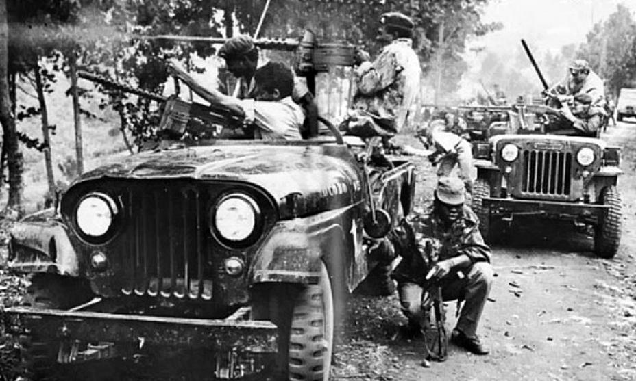 Наёмники совместно с солдатами КНА отбиваются от симба (https://www.nairaland.com) - Африканский ландскнехт | Warspot.ru