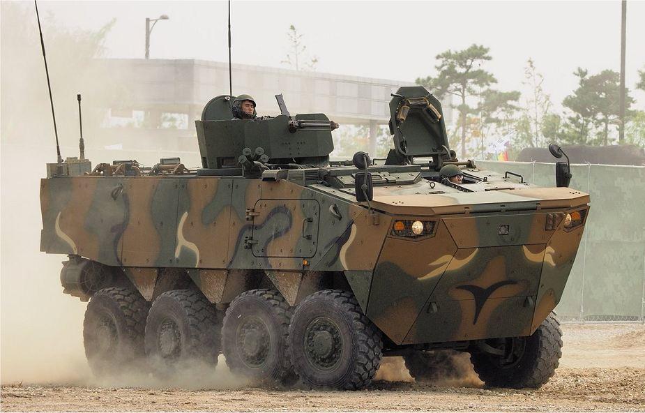 Бронетранспортёр K808. armyrecognition.com - K806 и K808 идут в серию | Warspot.ru