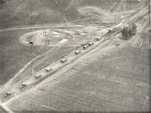 Советская колонна на марше, 17 сентября 1939 года. 1wrzesnia39.pl - «Освободительный поход» РККА: начало | Warspot.ru