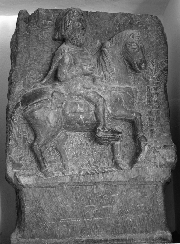 Мавританский всадник. Рельеф их Хемту, I век н.э.