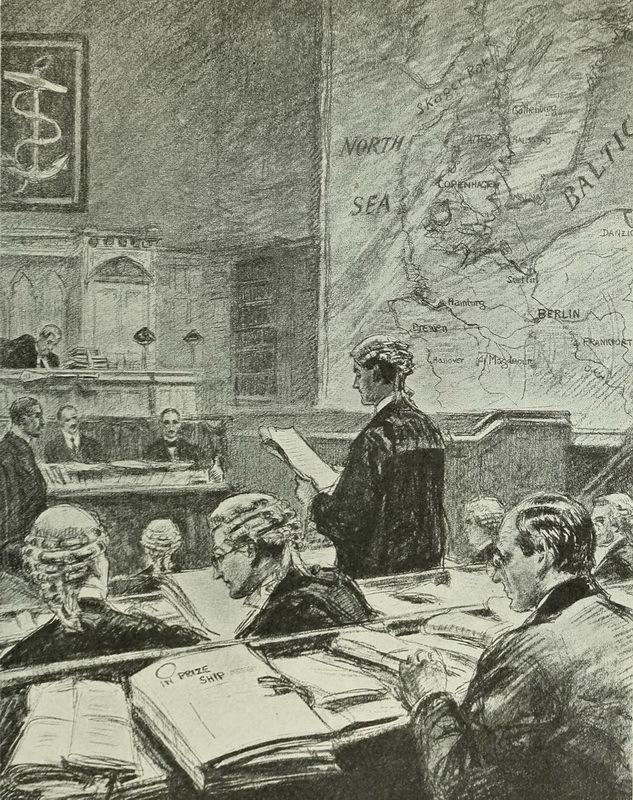 Британский призовой суд существовал даже во времена Первой мировой войны - Призовые деньги в Роял Неви | Warspot.ru