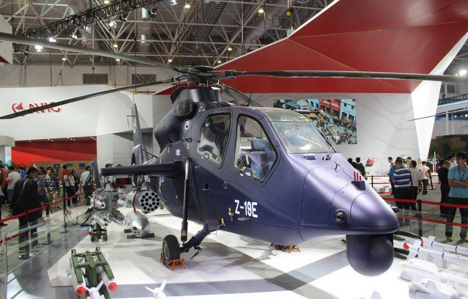 Вертолёт Harbin Z-19Е на международном авиасалоне в китайском городе Чжухай, 2016 год. airrecognition.com - «Чёрный торнадо» пойдёт в серию | Warspot.ru