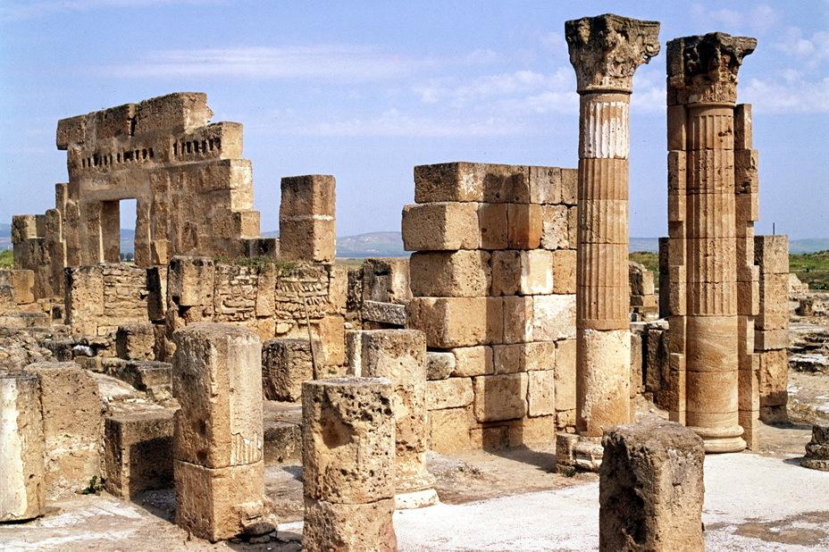 Развалины Утики — второго по значению карфагенского города, завоёванного Агафоклом