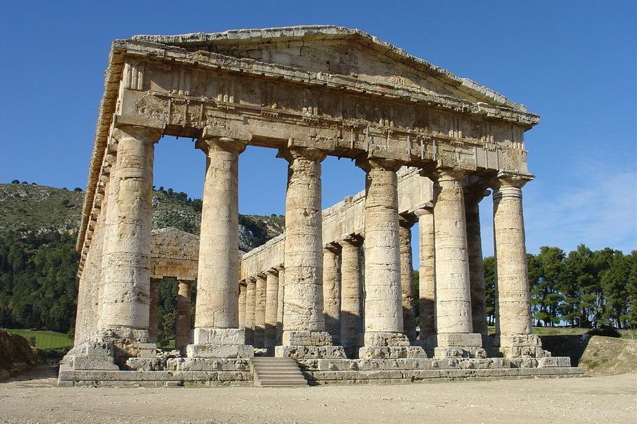 Греческий храм в Сегесте — современник Агафокла - Нечестивец Агафокл | Warspot.ru