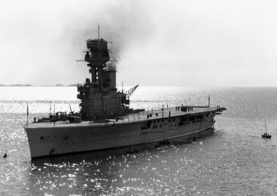 Авианосец HMS Hermes. ww2db.com - 100 лет авианосцу. Что дальше? | Warspot.ru