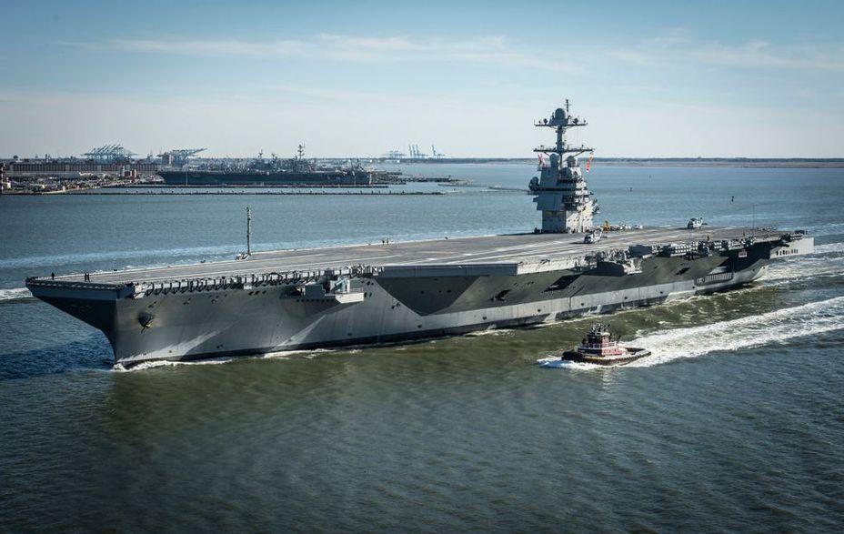 Американский авианосец USS Gerald R. Ford. popularmechanics.com - 100 лет авианосцу. Что дальше? | Warspot.ru