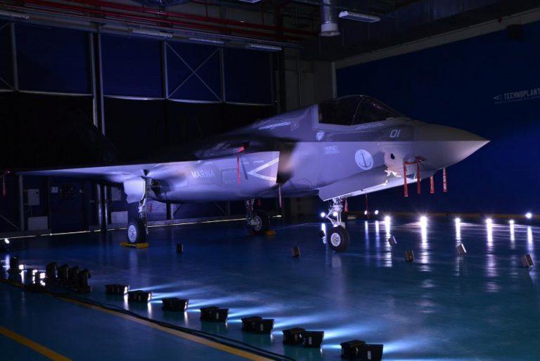 Первый итальянский истребитель F-35B. navaltoday.com - Италия хочет сэкономить на F-35 | Warspot.ru