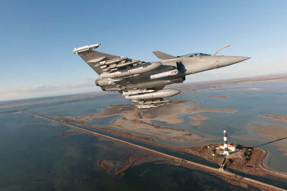 Истребитель Rafale модификации F3-R. dassault-aviation.com - Rafale F3-R получил одобрение   Warspot.ru