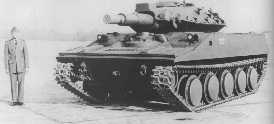 ​Прототип №7. Hunnicutt R.P. Sheridan. A history of the American Light Tank Volume 2. – Presidio, 19 - Самый «тяжёлый» лёгкий танк | Warspot.ru