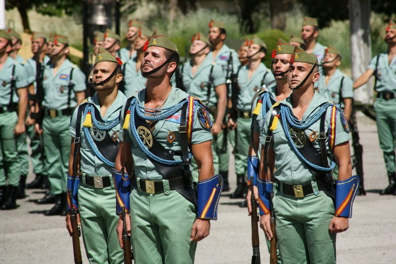 Испанские легионеры, наши дни