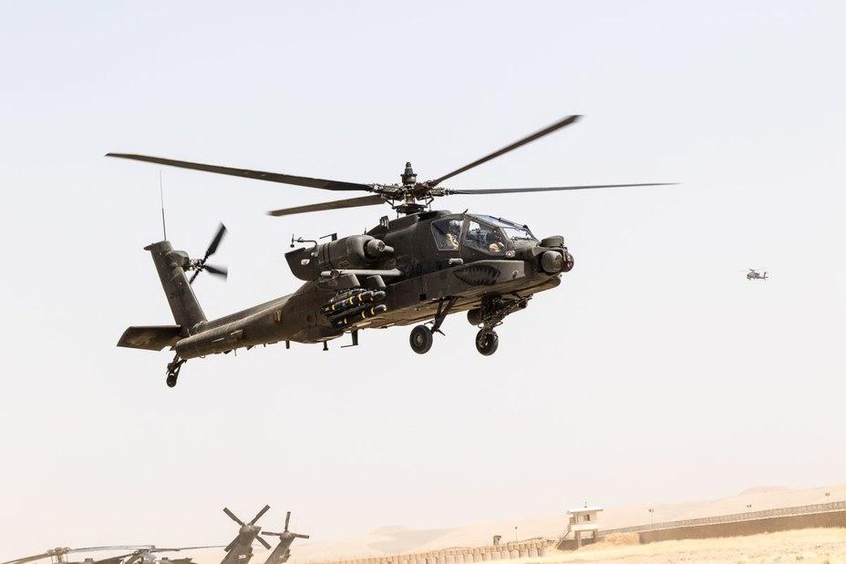 Вертолёт AH-64 Apache. defensenews.com - Египет вооружится новейшими «Апачами» | Warspot.ru