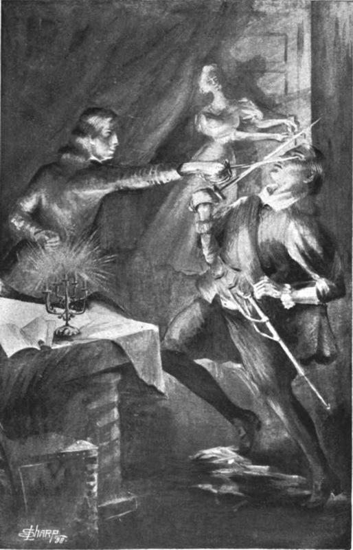 Убийство Кристофера Марло. Рисунок 1895 года - Чисто шекспировское убийство | Warspot.ru