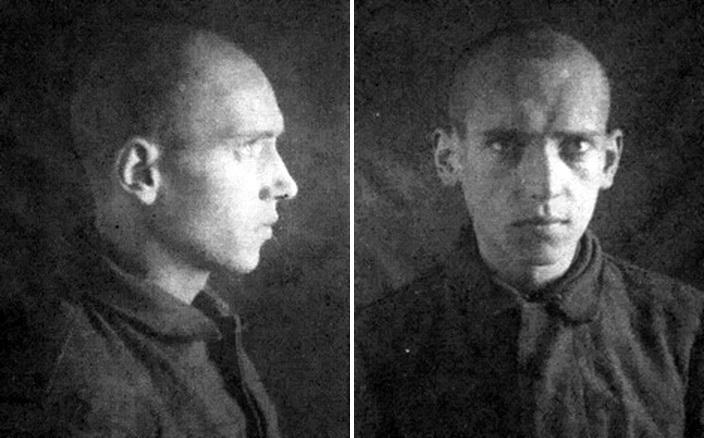 Фельдфебель Рудольф Шик — фото, сделанное в плену. Лётчик умер в лагере для военнопленных от туберкулёза в 1942 году - Так был ли таран?   Warspot.ru