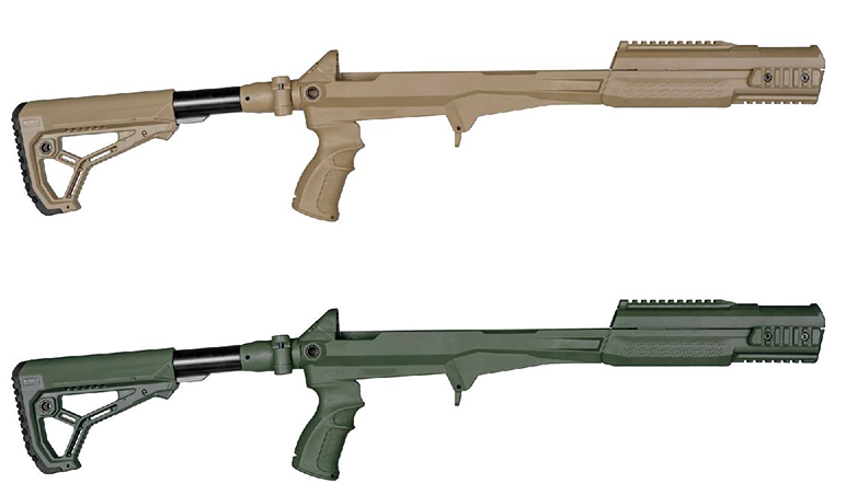 Системы шасси M4 SKS. fab-defense.com - Израильтяне скрестили СКС и М4 | Warspot.ru