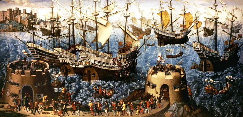 Флот Тюдоров около укреплений Дувра в 1520 году - Вопросы морского здоровья | Warspot.ru