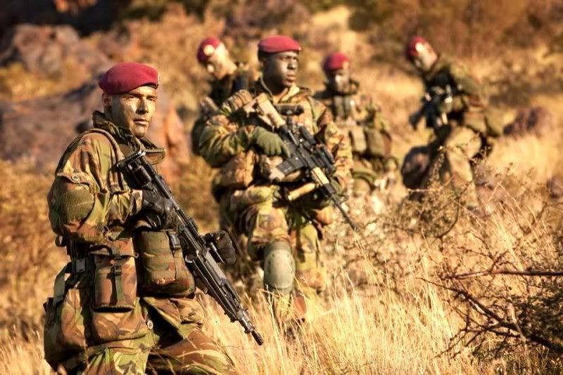 Южноафриканские спецназовцы, наши дни