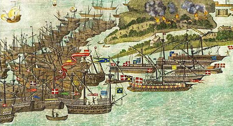 Французский флот атакует Бембридж - Неизвестная армада | Warspot.ru