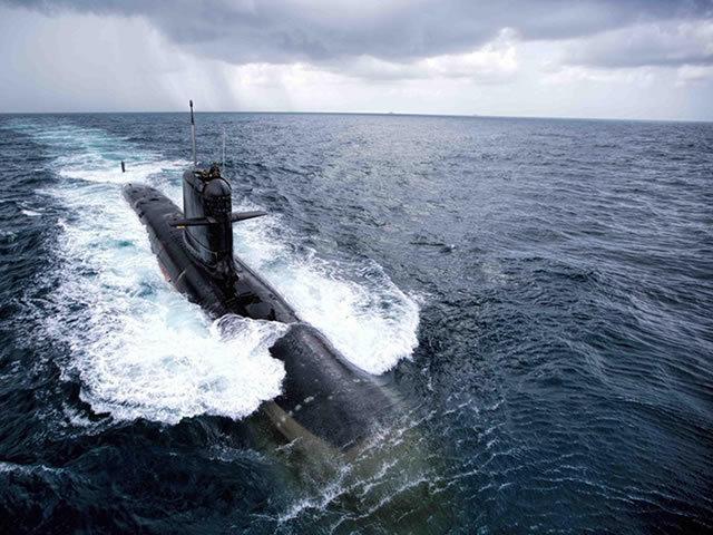 Субмарина Kalvari на приёмочных испытаниях. navyrecognition.com - Project 75 (I): Индия расширяет заказ на субмарины | Warspot.ru