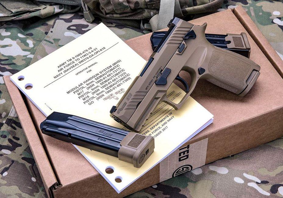 Пистолет M18. sigsauer.com - M18: новый «стандарт качества» | Warspot.ru