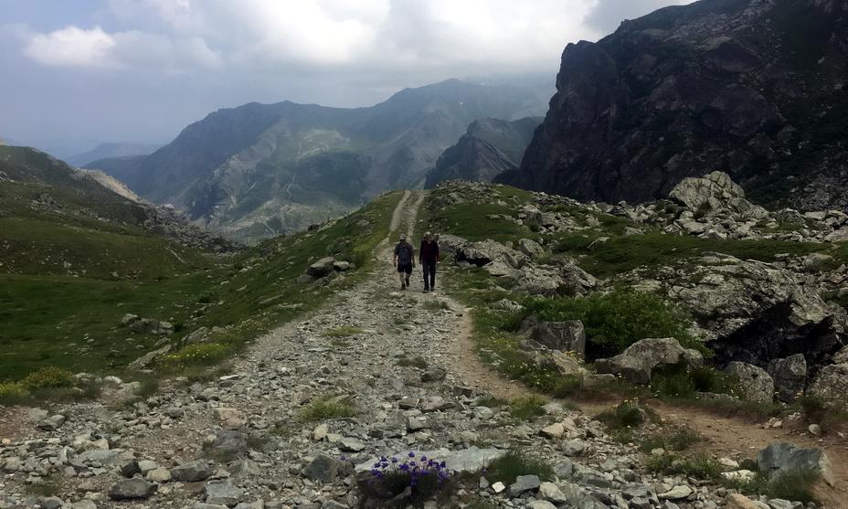 Так в наши дни выглядит одна из альпийских троп, по которым прошло войско Ганнибала - «Мы найдём дорогу или построим её сами!» | Warspot.ru