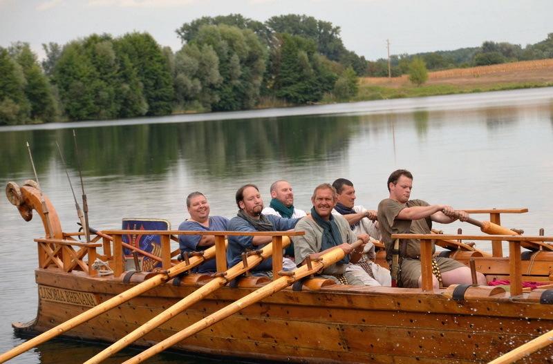 Реконструкция римской лузории из Майнца и её экипажа - Флот Римской империи | Warspot.ru