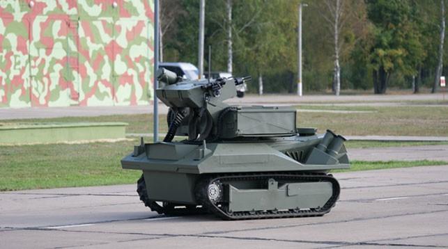 Роботизированный комплекс «Берсерк». belta.by - Белорусский «Берсерк»   Warspot.ru