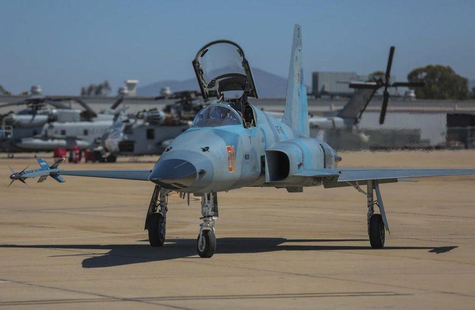 Истребитель F-5 Tiger II. defence-blog.com - ВМС США покупают сорокалетние истребители | Warspot.ru