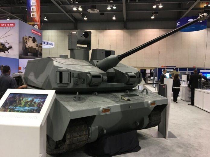 Беспилотная боевая машина Black Knight. defence-blog.com - Американская армия хочет получить «роботизированные танки»   Warspot.ru