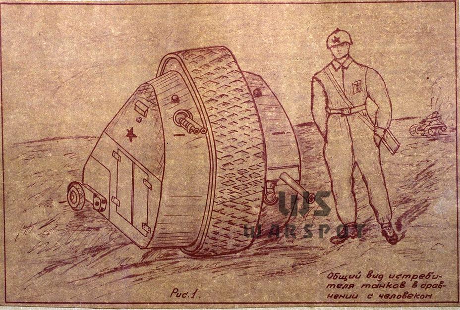 Истребитель танков Гальперина, 1942 год. - Боевые сферы для Красной армии   Warspot.ru