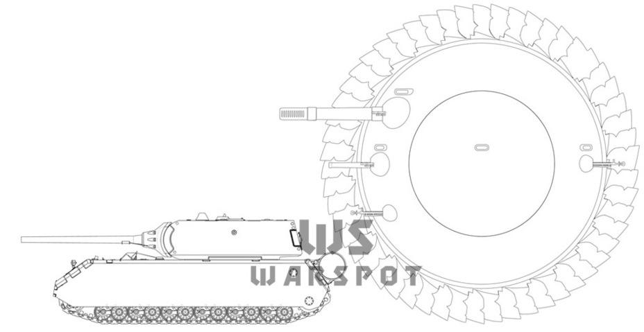 «Противотанк» в сравнении с Pz.Kpfw.Maus. - Боевые сферы для Красной армии   Warspot.ru
