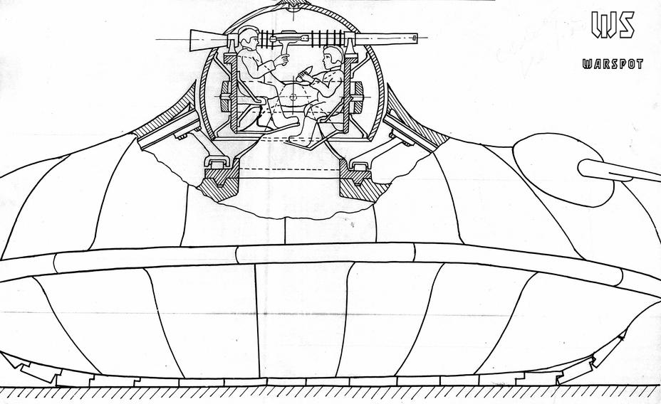 Проект тяжёлого танка инженера Алексеева - Серьёзные намерения и несерьёзные результаты   Warspot.ru