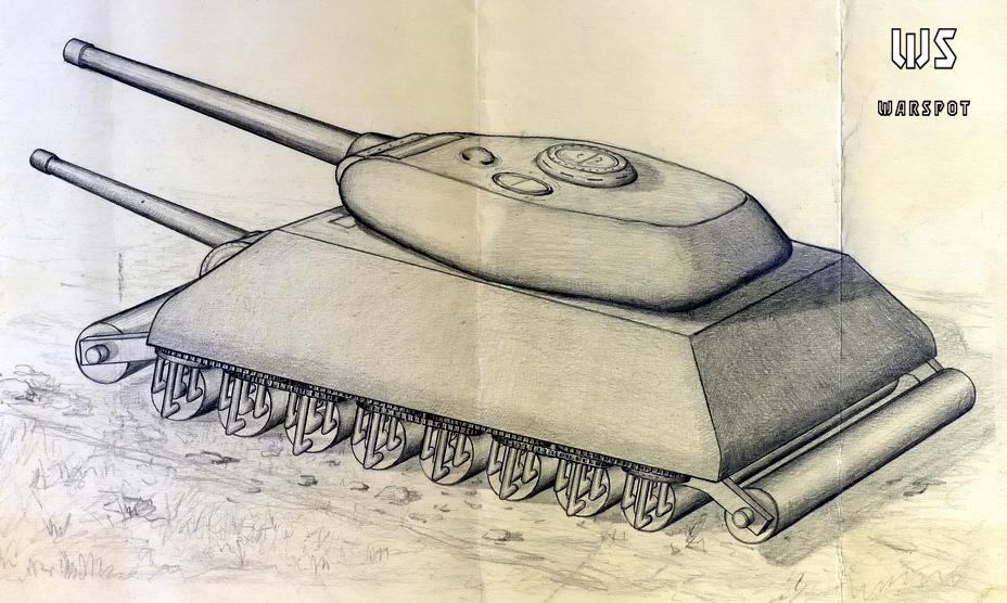 «Танк-вездеход» старшего техника-лейтенанта Д.И. Остапенко - Серьёзные намерения и несерьёзные результаты   Warspot.ru