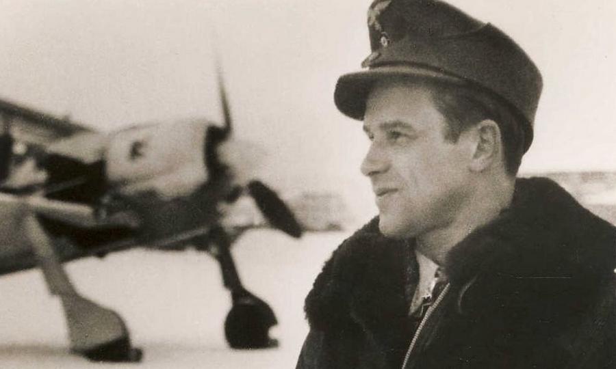 Один из лучших асов люфтваффе командир авиагруппы I./JG 54 майор Ганс Филипп - Кровавая «Искра» генерала Кравченко   Warspot.ru