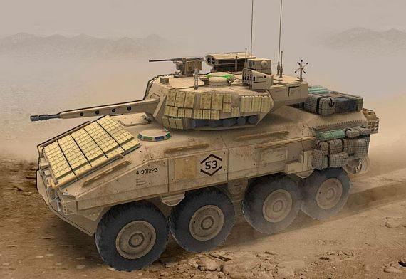 SAIC построит для морпехов «F-35 на колёсах»
