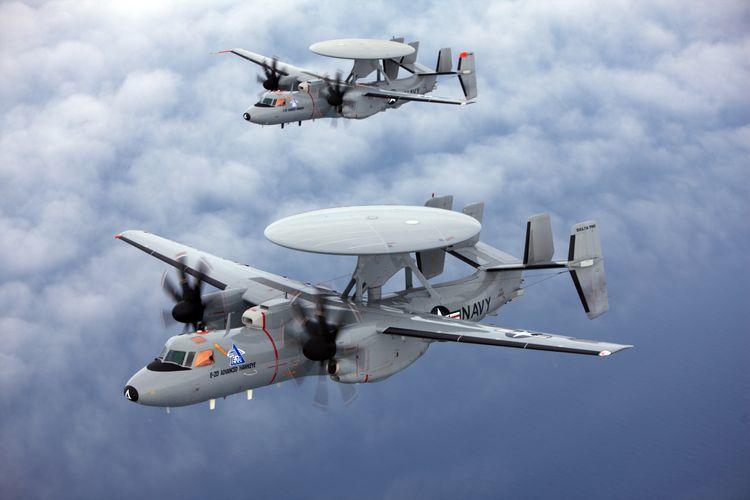 Самолёт ДРЛО E-2D Advanced Hawkeye. northropgrumman.com - Американцы покупают новые «глаза» для авианосцев | Warspot.ru
