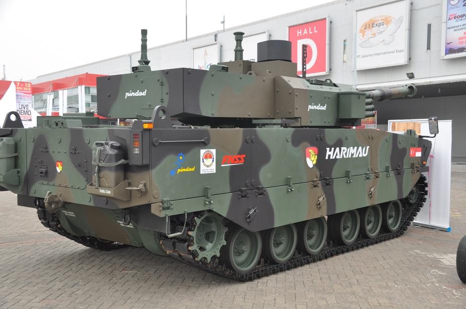 Опытный образец танка Harimau. kontan.co.id - Harimau: «Тигр» по-индонезийски | Warspot.ru