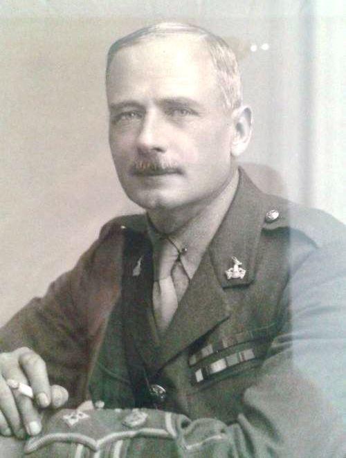 Командир 3-го Трансваальского полка 1-й Южноафриканской пехотной бригады подполковник Э.Ф. Теккерей.wikitree.com
