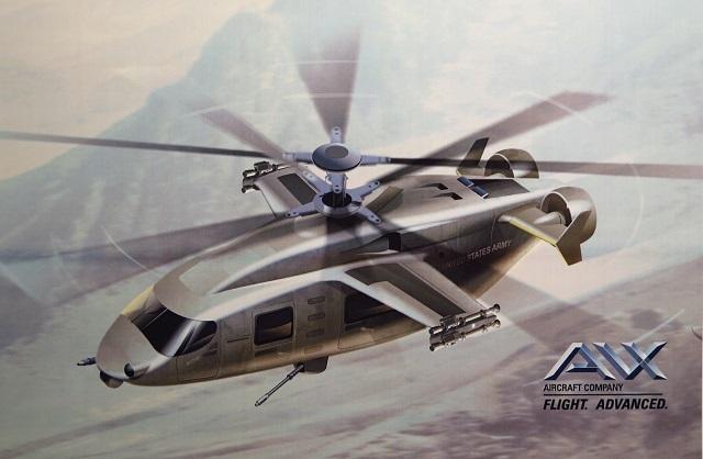 Рендер вертолёта от компании AVX Aircraft, представленный в 2016 году. flightglobal.com - Новый «реактивный» вертолёт для американской армии   Warspot.ru