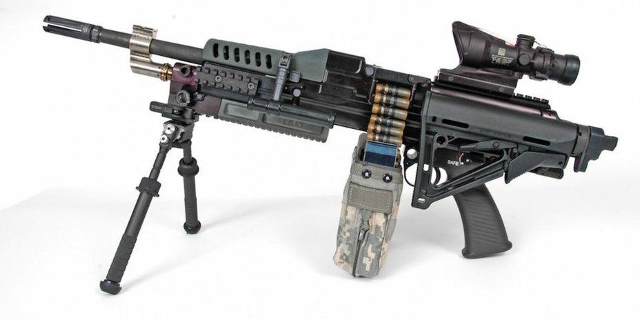 Одна из моделей пулемёта, созданного в рамках программы NGSW. textronsystems.com - NGSW: бронежилетам не устоять | Warspot.ru