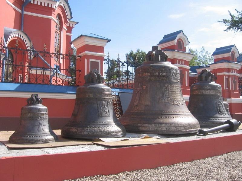Колокола иркутской Богородице-Казанской церкви