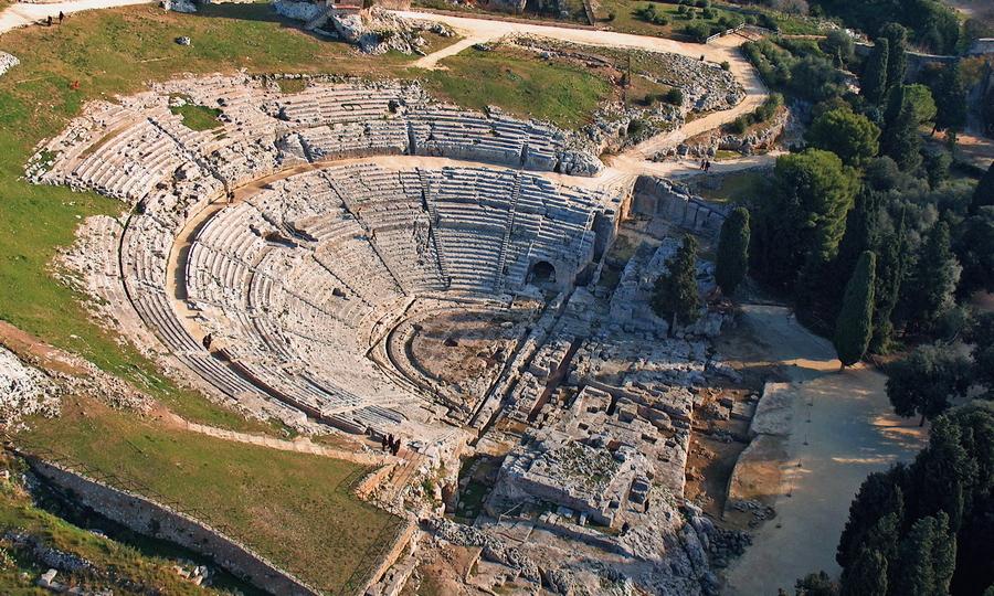 Развалины греческого театра в Сиракузах - Владелец Дамоклова меча | Warspot.ru