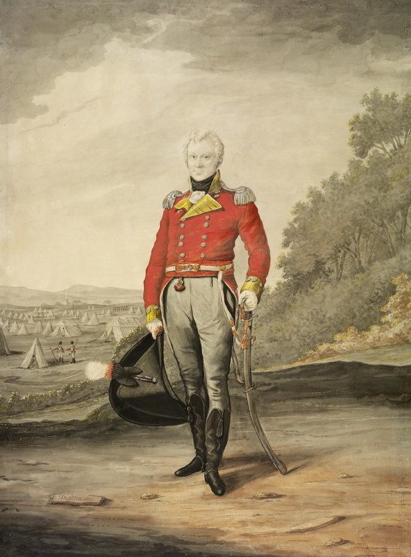 Майор Джордж Джонстон. upload.wikimedia.org - Несостоявшийся ирландский реванш | Warspot.ru