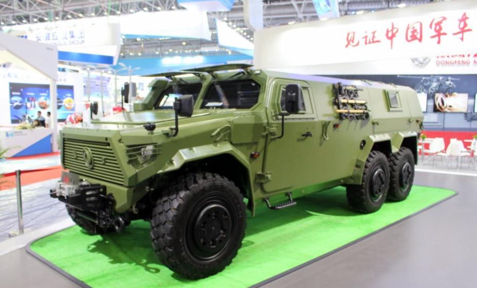Внедорожник Dongfeng 6×6. armyrecognition.com - Китайская армия тестирует новые бронемашины | Warspot.ru