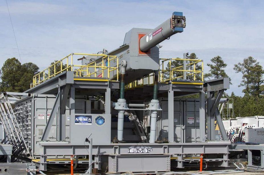 Прототип рельсотрона, разрабатываемого для ВМС США. defence-blog.com - ВМС США тестируют улучшенный рельсотрон | Warspot.ru
