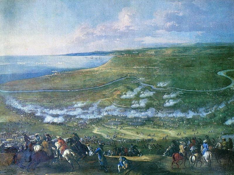 Битва при Хальмстадте, 1676 год. commons.wikimedia.org - На суше и на море | Warspot.ru